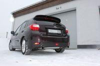 FOX Duplex Sportauspuff Subaru Impreza GP 4x4 1.6l 84kW  - 1x100 Typ 12 rechts/links