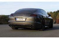 FOX Duplex Sportauspuff Porsche Panamera 3,6l 220kW - 2x115x85 Typ 44 rechts/links Bild 5