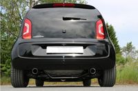 FOX Duplex Sportauspuff Seat Mii/ Skoda Citigo/ VW UP - 1x80 Typ 25 rechts/links Bild 2