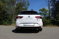 FOX Duplex Sportauspuff Seat Leon 5F ST Cupra 2.0l 195/206kW - 2x80 Typ 25 rechts/links Bild 6