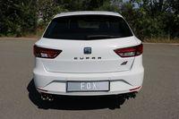 FOX Duplex Sportauspuff Seat Leon 5F ST Cupra 2.0l 195/206kW - 2x80 Typ 25 rechts/links Bild 4
