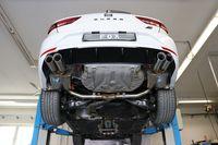 FOX Duplex Sportauspuff Seat Leon 5F ST Cupra 2.0l 195/206kW - 2x80 Typ 25 rechts/links Bild 2