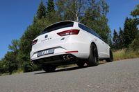 FOX Duplex Sportauspuff Rennsportanlage Seat Leon 5F ST Cupra 2.0l 195/206kW - 2x80 Typ 25 rechts/links Bild 6