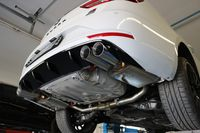 FOX Duplex Sportauspuff Rennsportanlage Seat Leon 5F ST Cupra 2.0l 195/206kW - 2x80 Typ 25 rechts/links Bild 4