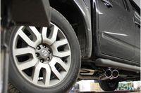 FOX Sportauspuff Sidepipe Nissan Navara D40 2.5l dCi 106/126/128/140kW Ausgang rechts und links am Fahrzeug - 2x90 Typ 16 rechts/links Bild 6