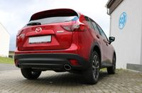 FOX Duplex Sportauspuff Mazda CX5 Benzin - KE/ GH Endschalldämpfer - 115x85 Typ 38 rechts/links