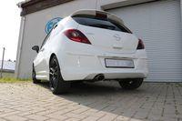 FOX Sportauspuff Opel Corsa D - Sportheck und OPC Line Endschalldämpfer - 115x85 Typ 32 Bild 8