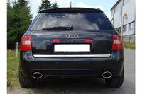 FOX Duplex Sportauspuff Audi A6/ S6 Typ 4B Quattro Endschalldämpfer für RS6 Stoßstange - 140x90 Typ 32 rechts/links Bild 2
