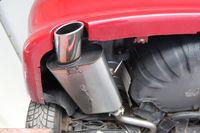 FOX Sportauspuff Peugeot 406 Limousine/ Coupe Endschalldämpfer - 1x90 Typ 13 Bild 2