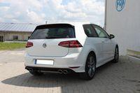 FOX Duplex Sportauspuff VW Golf 7 - starre Hinterachse - Golf R-Optik - 2x115x85 Typ 32 rechts/links Bild 2