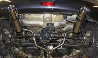 FOX Duplex Sportauspuff Suzuki Swift Sport 4 1,2l 66/69kW - 4x4 - 1x100 Typ 25 rechts/links Bild 2