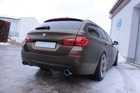 FOX Duplex Sportauspuff BMW F10/F11 535d 3,0l D 220/230kW einflutig - 1x100 Typ 16 rechts/links