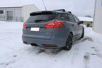FOX Sportauspuff Ford Focus 3 ST Turnier 2,0l 184kW quer Ausgang mittig - 2x100 Typ 25 mittig Bild 5