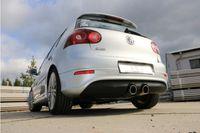 FOX Sportauspuff VW Golf 5 R32 3,2l 184kW Ausgang mittig - 2x100 Typ 16 Bild 3