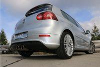 FOX Sportauspuff VW Golf 5 R32 3,2l 184kW Ausgang mittig - 2x100 Typ 16 Bild 5