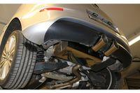FOX Sportauspuff VW Golf 5 R32 3,2l 184kW Ausgang mittig - 2x100 Typ 16 Bild 6