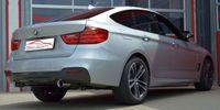 FRIEDRICH MOTORSPORT Duplex Sportauspuff BMW 3er GT F34 ab Bj. 06/2013  318d 105kW / 320d/320dx 135/147kW - Endrohrvariante frei wählbar