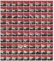 FRIEDRICH MOTORSPORT Sportauspuff Ford Fiesta JA8 Facelift ab Bj. 01/2013 1.0l Ecoboost 103kW Black-/ Red-Edition - Endrohrvariante frei wählbar