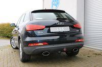 FOX Duplex Sportauspuff Audi Q3 quattro Benzin 160x90 Typ 38 rechts/links 2,0l TFSI 125/155kW Bild 4