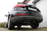 FOX Duplex Sportauspuff Audi Q3 quattro Benzin 160x90 Typ 38 rechts/links 2,0l TFSI 125/155kW