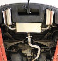 FOX Duplex Sportauspuff Audi Q3 quattro Benzin 160x90 Typ 38 rechts/links 2,0l TFSI 125/155kW Bild 3
