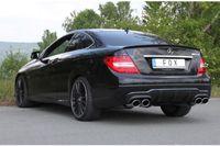 Fox Duplex Sportauspuff Mercedes C-Klasse Coupe 6 Zylinder - C204 AMG-Paket - 2x115x85 Typ 32 rechts/links 3,5l 225kW 3,0l D 195kW Bild 6