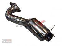 BULL-X Downpipe für Audi A1 1.4l TSI mit 200 Zeller Sportkat Bild 2
