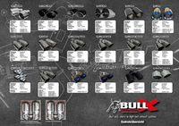 BULL-X Komplettanlage Golf 7 GTI 2,0l TSI Y-Style im R32-Look - 2x 102mm echt Carbon mit Kugelkopf-Prinzip Bild 4
