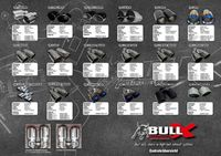 BULL-X Komplettanlage Gruppe A 63,5mm Skoda Fabia 1,2l - 1,4l TSI - 2x80mm  Bild 2