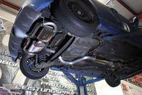 BULL-X Komplettanlage Fiat 500 Abarth Modelle - 2x 100mm scharf abgeschrägt mit breiter Kante (Kugelkopf)