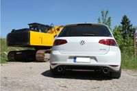 FOX Duplex Sportauspuff VW Golf 7 2.0l TDI 110kW 4-Motion R-Optik  - 1x100 Typ 16 rechts/links Bild 4