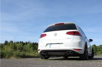 FOX Duplex Sportauspuff VW Golf 7 2.0l TDI 110kW 4-Motion R-Optik  - 2x80 Typ 25 rechts/links Bild 3
