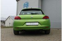 FOX Duplex Sportauspuff VW Scirocco 3 2.0l TFSI 147/155kW 2,0l TDI 100/103kW - 2x80 Typ 25 rechts/links Bild 4