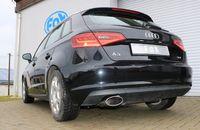 FOX Sportauspuff Audi A3 8V Sportback 1.4l TFSI 90/92/103/110kW - 160x90 Typ 38