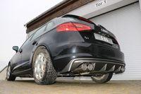 FOX Duplex Sportauspuff Audi A3 8V Sportback 1.4l TFSI 90/92/103/110kW - 2x90 Typ 16 rechts/links