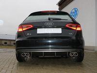 FOX Duplex Sportauspuff Audi A3 8V Sportback 1.4l TFSI 90/92/103/110kW - 2x88x74 Typ 32 rechts/links Bild 2