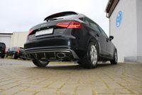 FOX Duplex Sportauspuff Audi A3 8V Sportback 1.4l TFSI 90/92/103/110kW - 160x90 Typ 38 rechts/links Bild 2