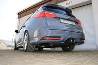 FOX Sportauspuff Ford Focus 3 ST Turnier 2.0l 136kW quer Ausgang mittig - 2x100 Typ 25 mittig Bild 3