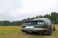 FOX Duplex Sportauspuff Ford Mustang Coupe & Cabrio 2,3l 231kW 5,0l 310kW - 1x100 Typ 25 rechts/links Bild 2