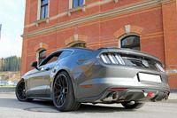 FOX Duplex Sportauspuff Ford Mustang Coupe & Cabrio 2,3l 231kW 5,0l 310kW - 1x100 Typ 25 rechts/links Bild 5