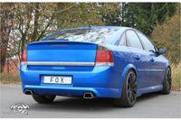 FOX Duplex Sportauspuff Opel Vectra C OPC Limousine 2.8l 206kW - 142x78 Typ 61 rechts/links Bild 2