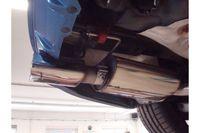 FOX Duplex Sportauspuff Opel Vectra C OPC Limousine 2.8l 206kW - 142x78 Typ 61 rechts/links Bild 4