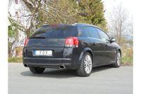 FOX Duplex Sportauspuff Opel Signum Sportheck 2.0l 2.8l - 140x90 Typ 44 rechts/links Bild 4
