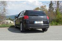 FOX Duplex Sportauspuff Opel Signum Sportheck 2.0l 2.8l - 140x90 Typ 44 rechts/links Bild 3