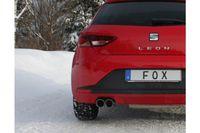 FOX Sportauspuff Seat Leon 5F 1,8l 132kW 2,0l TDI 135kW - 2x80 Typ 25 Bild 5