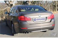 FOX Duplex Sportauspuff BMW F10/F11 535i 3,0l 225kW - 2x80 Typ 12 rechts/links Bild 2