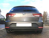 FOX Sportauspuff Seat Leon 5F ST - Starre Hinterachse - 2x90 Typ 25 Bild 5