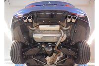 FOX Duplex Sportauspuff BMW F32 420d Coupe M-Paket passend an Rieger Heckschürzeneinsatz - 2x80 Typ 16 rechts/links Bild 5