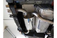 FOX Duplex Sportauspuff BMW F32 420d Coupe M-Paket passend an Rieger Heckschürzeneinsatz - 2x80 Typ 16 rechts/links Bild 2