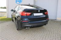 FOX Duplex Sportauspuff BMW X4 F26 - 35d 3,0l D 230kW - 2x90 Typ 17 rechts/links Bild 8